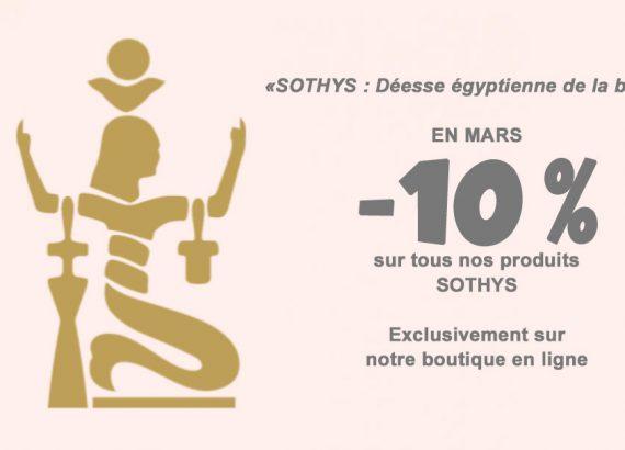 Sothys, l'univers des produits de beauté