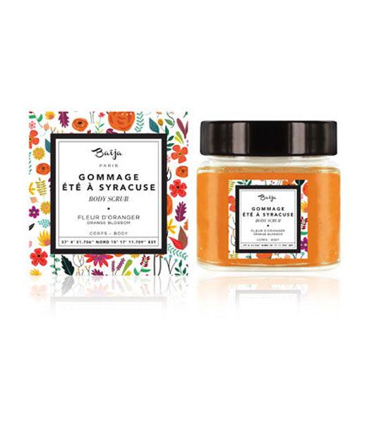 Gommage—Eté-à-Syracuse—Fleur-d'Oranger—Baïja